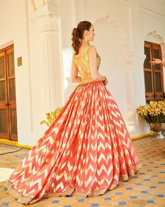 Exclusive Collection of Pakistani Bridal Dresses Online by Pakistani Designers to Buy for Pakistani Brides looking for a Traditional or Contemporary Bridal & Wedding Dresses. Lehnga Dress, Bridal Lehenga Choli, Pakistani Bridal Dresses, Indian Dresses, Lehga Choli, Brocade Lehenga, Shadi Dresses, Bollywood Lehenga, Gown Dress