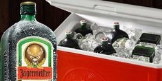 Ice cold Jägermeister, there's nothing better!