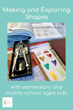 A blog post about exploring lines and shapes with elementary and middle school ages children at home. Making Connections, Learn Art, Art And Architecture, Art Lessons, Middle School, Exploring, Children, Kids, Shapes