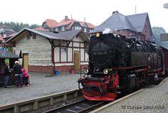 Harzer Schmalspurbahnen fahren auf den Brocken