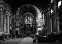 Igreja de São Domingos, interior, foto de Alberto Carlos Lima, in a.f. C.M.L.