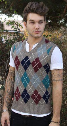 knit vest MEN - Google 検索