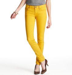 LOFT Girl Pick: Color Pop Modern Skinny Jeans, $59.50