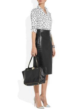 Dolce & Gabbana | Polka-dot stretch-cotton shirt |
