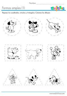 Enlace para descargar cuadernillo gratis con actividades infantiles de preescolar en PDF. Fichas con activiades y ejercicios listos para imprimir. edufichas