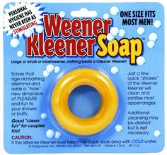 Amazon.com: Design Sense Generic Weener Kleener Soap: Best gag gift ever!