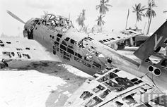 Zero wreck in Tarawa. Ww2 Aircraft, Military Aircraft, Aircraft Carrier, Abandoned Cars, Abandoned Vehicles, Ww2 Pictures, Iwo Jima, Ww2 Planes, Us Marines
