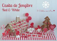 Casita Jengibre Red & White