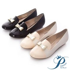 Princess - 立體金屬蝴蝶結樂福鞋-清甜杏 - Yahoo!奇摩購物中心 Yahoo, Salvatore Ferragamo, Flats, Shoes, Fashion, Loafers & Slip Ons, Moda, Zapatos, Shoes Outlet
