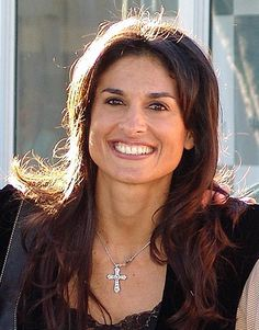Gabriela Sabatini, argentina  , love her smile .. she played  fantastic tennis during  her times ....