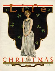 Cole Phillips cover, Life magazine Dec 6, 1923