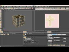 UV Mapping in C4D and prepping for export to Photoshop.