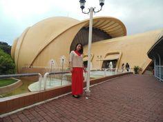 Keong emas museum . Taman mini indonesia indah . Indonesia