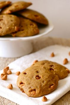 pumpkin butterscotch cookies 1 by annieseats, via Flickr