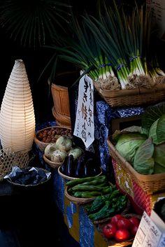 vegetables of Kyoto, Japan 京野菜