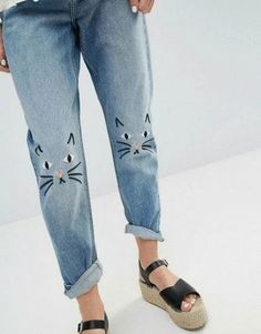 I enjoy Jeans ! And much more I like to sew my own personal Jeans. Next Jeans Sew Along I'm likely to reveal m Mode Style, Style Me, Hair Style, Diy Fashion, Ideias Fashion, Fashion Online, Quirky Fashion, Jeans Fashion, Fashion Spring