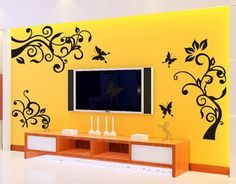 Wall Tattoo Design Ideas, Pictures, Remodel, and Decor