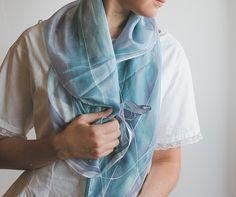 Unique silk scarf!