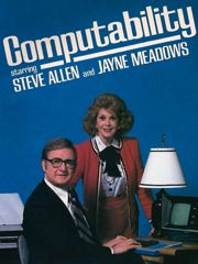 "vhsdreamz: """"Computability - with Steve Allen and Jayne Meadows"" The computer displayed is a Kaypro II, "" Home Computer, Computer Books, Computer Tips, Mechanical Calculator, Steve Allen, Crt Tv, Nina Simone, Old Computers, Brave New World"