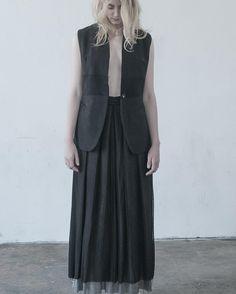 #lumenetumbra#ss16collection#women#clothing#jacket#vest#shadesofgrey#minimalism#handmade#photo#madeinitaly