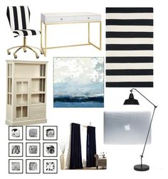 """""""Untitled #9"""" by handitia-putri on Polyvore featuring interior, interiors, interior design, home, home decor, interior decorating, PBteen, Worlds Away, DutchCrafters and Safavieh"""