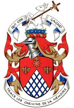 Arms of Gilles Héon