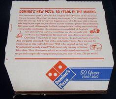 Dominos pizza Box - Dallas Texas - USA - 2010   Flickr - Photo Sharing!