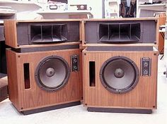 Pin Altec Lansing Model 19 Cabinets Avail Birch Oak Walnut Ebay ...