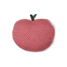 Coussin pomme Red Dots Oeuf NYC