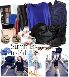 """""""Leave Summer , and stay with me"""" by dreamsandlove on Polyvore"""
