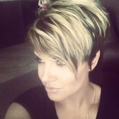 13 Excellentes coiffures courtes pour les dames de 40 à 50 ans - Coiffures Originales