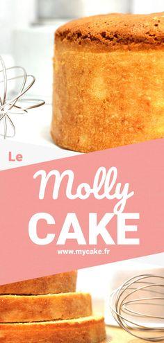 Le Molly Cake est le gâteau parfait pour le cake design. Décourez la recette du molly cake, du molly cake au chocolat et du molly cake au Thermomix ainsi que mes conseils & astuces pour le réussir facilement ! #recette #mollycake #patisserie #cakedesign #dessert #cake #gâteau #mycake