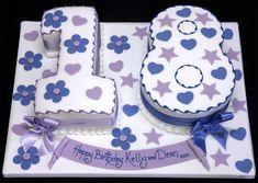 Торт в виде цифры - Блог о праздниках