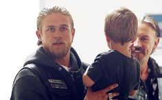 Jax, Abel and Chibs (I love Chib's face! ♥)