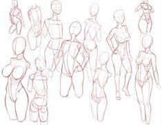 Figure Drawing Female Frames by Ecchi-Senshi - Human Body Drawing, Human Anatomy Drawing, Body Reference Drawing, Anatomy Art, Drawing Reference Poses, Female Reference, Anatomy Sketches, Art Drawings Sketches, Body Drawing Tutorial