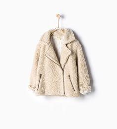 ZARA - NEW IN - Fleece coat