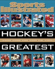 Sports Illustrated: Hockey's Greatest by Time Inc. at Gilt Sports Illustrated, Communities Unit, Time Inc, Sports News, Hockey, Coaching, This Book, The Unit, Baseball Cards