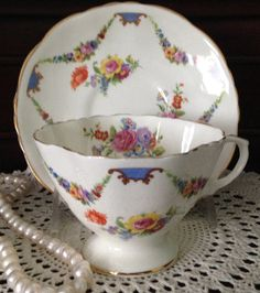 Lovely Old Hammersley Tea cup and Saucer from the 1930s