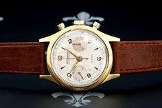 Nivada-Grenchen Clamshell Case Diver Chronograph – Landeron Cal. 48