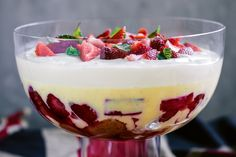 This rich dessert is pure booze-soaked, ultra-creamy, fruit-filled decadence.