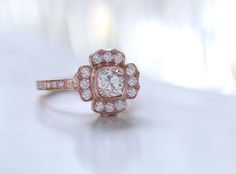 Floral ring. Erika Winters Fine Jewelry