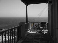Urban yellow @Sifnos #urban_yellow #island_yellow #not_urban #yellow_detail #balcony #greyscale #yellow_clothing_pins #summer #Greece #Sifnos #balcony_view #illustration #photography #blackandwhite_photography