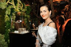 Camilla Belle wearing Prabal Gurung Pre-Fall 2014 with Bvlgari jewels – BVLGARI 'Decades Of Glamour' Oscar Party #2014