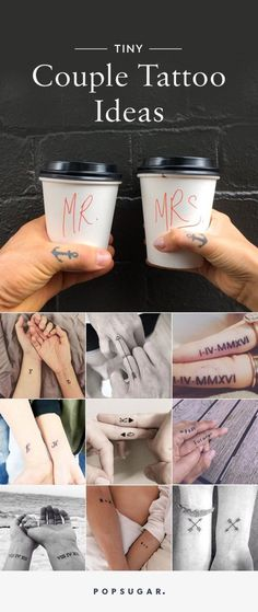 Getting matching tattoos with your significant other is always a nerve-wracking decision, but if you truly love someone, it's totally worth it! You don't have to get a giant tattoo to prove your eternal affection; we found 37 tiny (and adorable) ink ideas that are perfect for you and your boo.