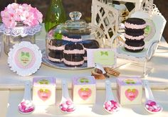 Table ideas for B-day party