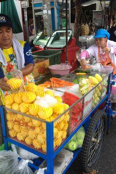 Bangkok: Comida callejera en su máximo esplendor - El Sabor de lo Bueno #Fruits #ekPlate #ekPlateFruit