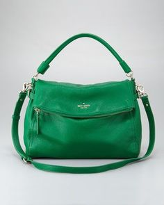 "Tempted to revert to my green comfort zone again. ""kate spade new york cobble hill little minka crossbody - Neiman Marcus"""