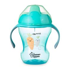 Lower Price with Tommee Tippee Weaning Sippee Cup Bpa Free Age 4m Green Rapid Heat Dissipation 150ml