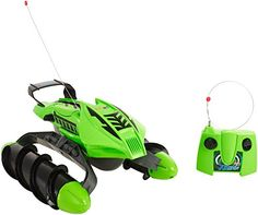 Hot Wheels RC Remote All Terrain Twister Stunt Toy Vehicles , Green Remote Control Boat, Radio Control, Rc Remote, Terrain Vehicle, Kids Electronics, Christmas Toys, Christmas 2015, Rc Cars, Stunts