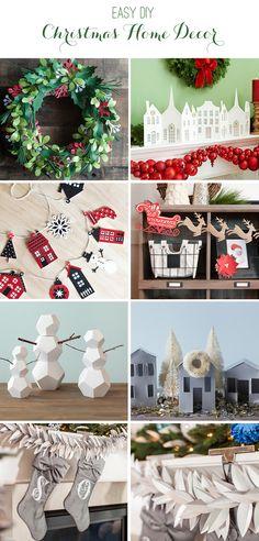 8 Easy Home Decor Crafts - Christmas Craft Ideas with Cricut